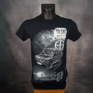 Polski Fiat 126p tshirt black