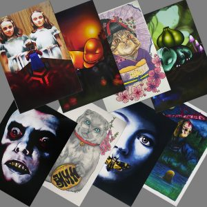 Prints limited editions of 20 by Holly