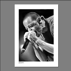 Print Chester Bennington limited editions of 20 by David