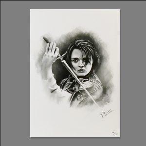 Print GOT Arya Star limited editions of 20 by David