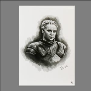 Print GOT Brienne of Tarth limited editions of 20 by David