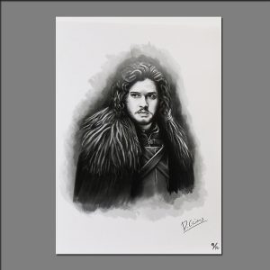 Print GOT Jon Snow limited editions of 20 by David