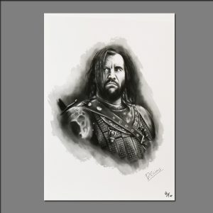 Print GOT Sandor Clegane limited editions of 20 by David