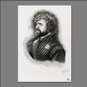 Print GOT Tyrion Lannister limited editions of 20 by David