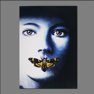 Print Silence of the lambs limited editions of 20 by Holly