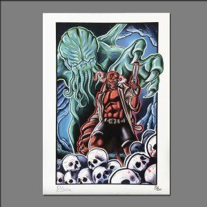 Print Hellboy by David
