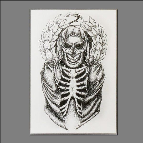 Print skull by David